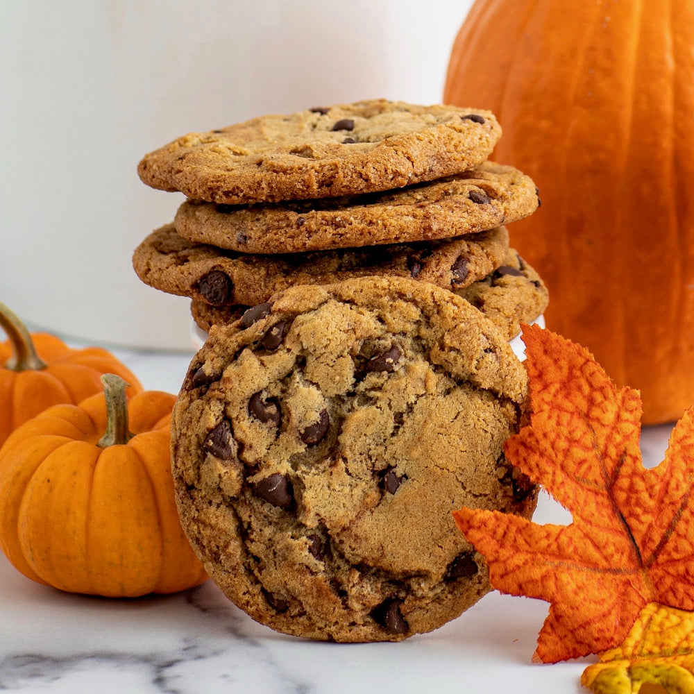 Pumpkin Spice Chocolate Chip (6 Cookies)