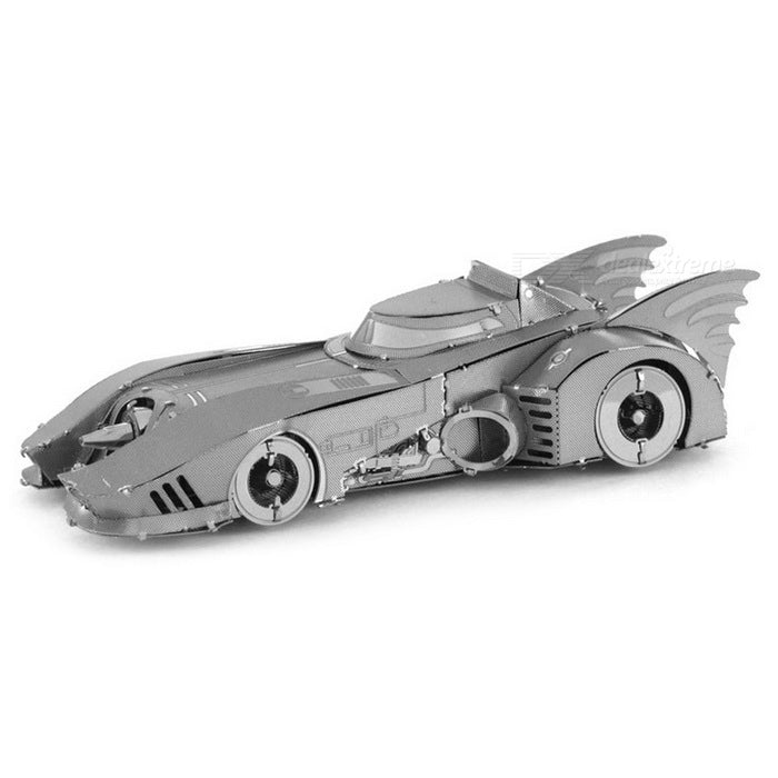 3D Puzzle Metal Batmobile Bat Car Model Puzzle Toy - Silver ...
