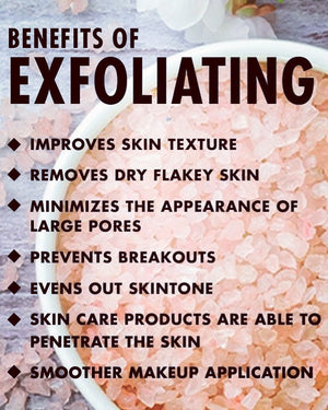 Why you should exfoliate...