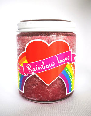 Rainbow Love  Hand & Body Scrub