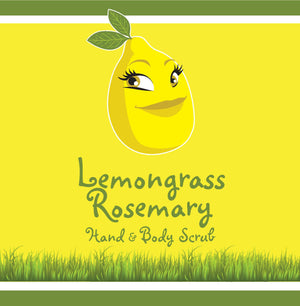 Lemongrass/Rosemary Hand & Body Scrub