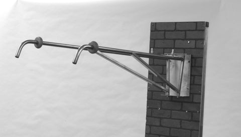 Stainless Steel Daul Wall Mount Booms (Daul Boom Assembly)