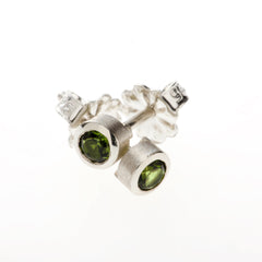 color bash 3mm studs sterling silver