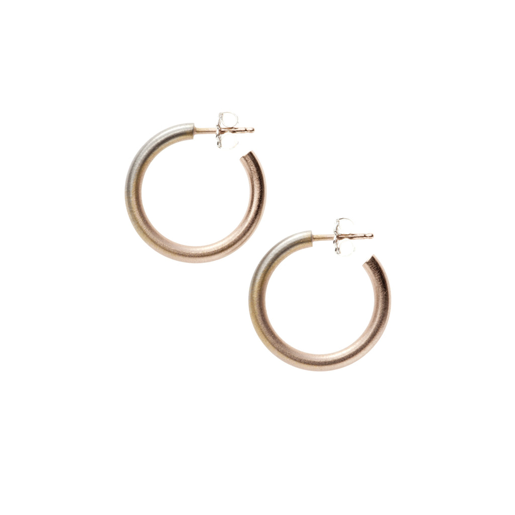 Small Fade Hoop Earrings