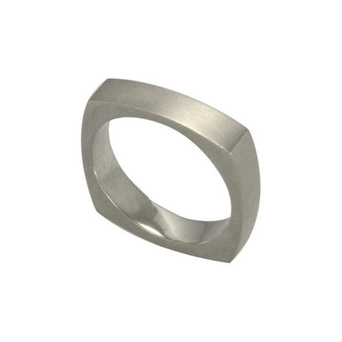 Women's Medium Square Ring
