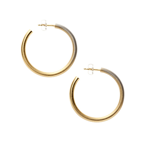 Large Fade Hoop Earrings