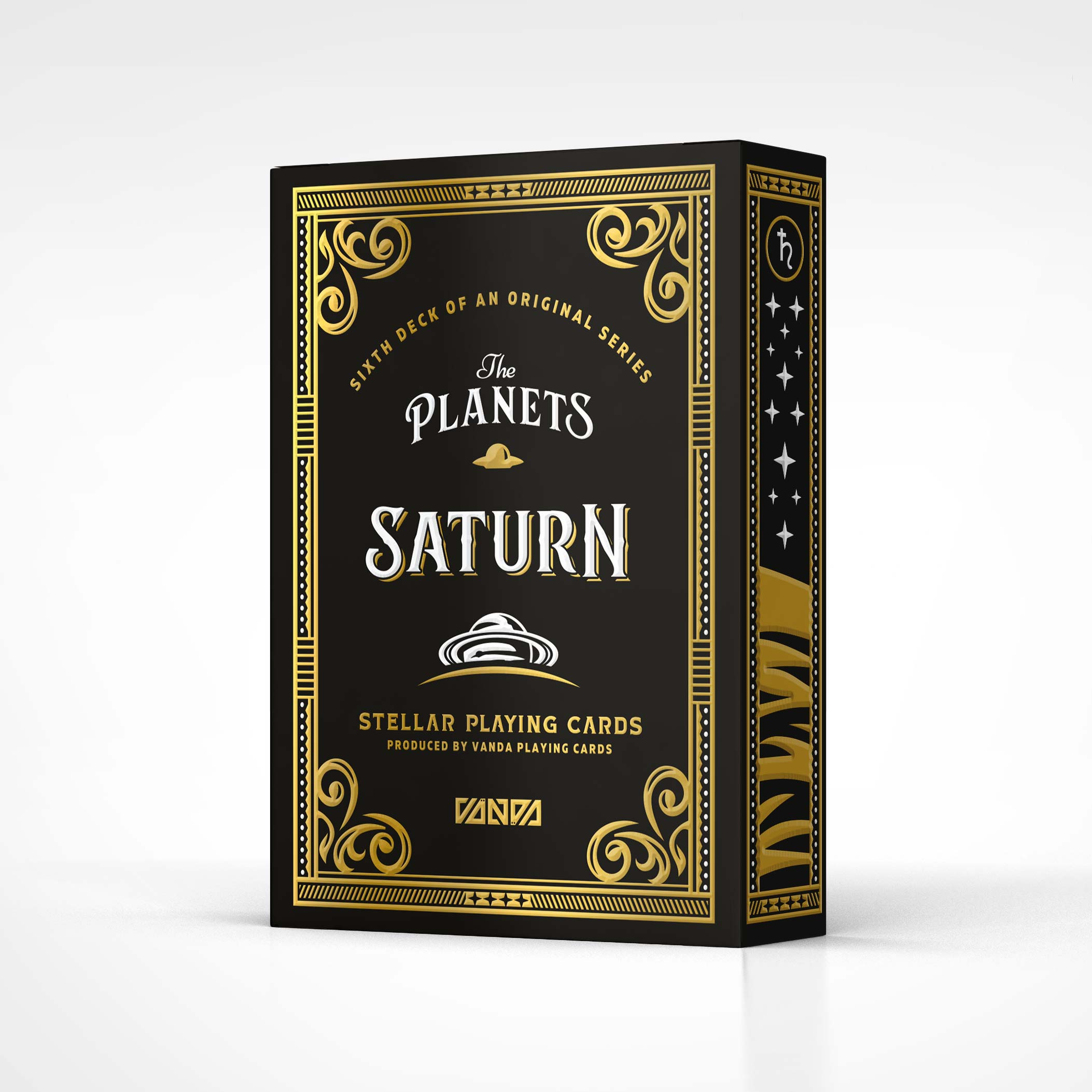 Saturn by VANDA Planets Playing Cards