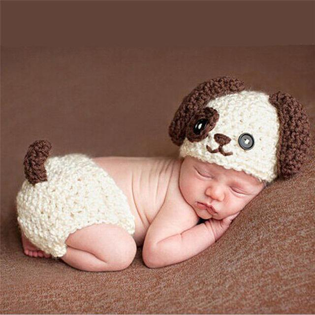Baby Crochet Photo Costumes