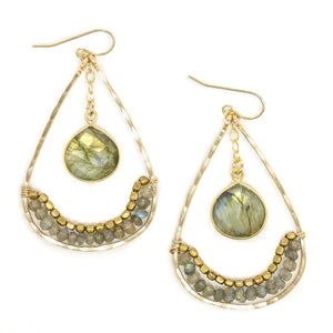 "Amy Joy ""Barbados"" Earrings"
