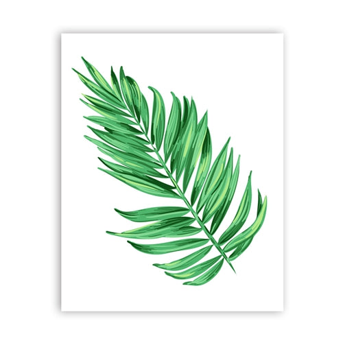 Watercolor Palm Tree Art Print