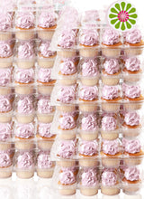 [12 PACK ] Stack'nGo Cupcake Containers (Subscribe & Save) Kitchen Cakes of Eden 12 Pack | 12 Sets