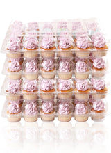 [24 PACK ] Stack'nGo Cupcake Containers Kitchen Cakes of Eden 24 Pack | 4 Sets