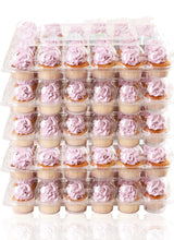 [24 PACK ] Stack'nGo Cupcake Containers Kitchen Cakes of Eden 24 Pack | 5 Sets