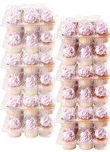 [6 PACK ] Stack'nGo Cupcake Containers Kitchen Cakes of Eden 6 Pack | 12 Sets