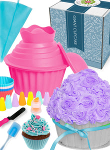 OMGiant Cupcake 29pc Baking Kit FBA PINK (Limited Edition)