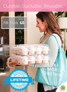 Stack'n Go Cupcake Containers Deliverr