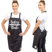 Unique & Funny Baking Aprons (NEW) ShipStation Bakers Gonna Bake Black
