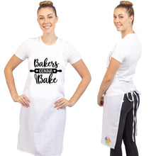 Unique & Funny Baking Aprons (NEW) ShipStation Bakers Gonna Bake White