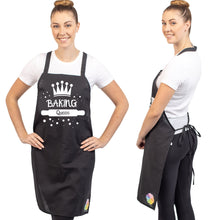 Unique & Funny Baking Aprons (NEW) ShipStation Baking Queen Black