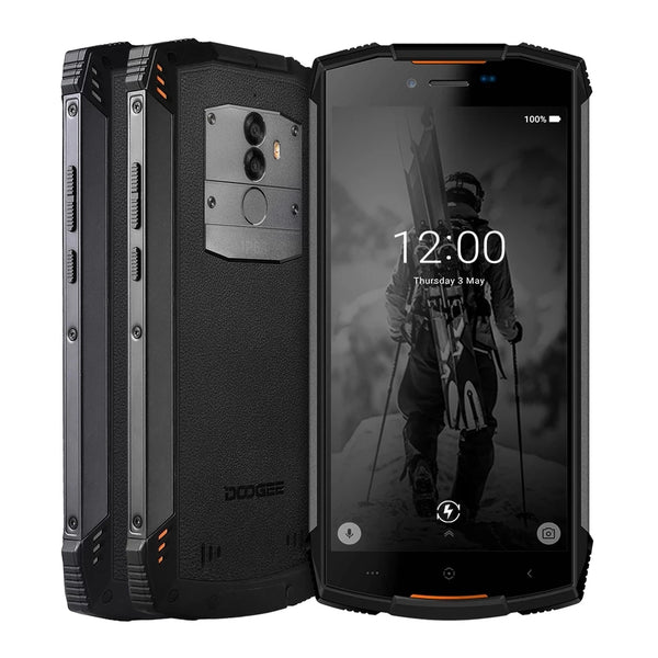 Real IP68 DOOGEE S55 waterproof Smartphone 4GB RAM 64GB ROM 5500mAh MTK6750T Octa Core 5.5inch Android 8.0 Dual SIM 13.0MP - EconomicShopping