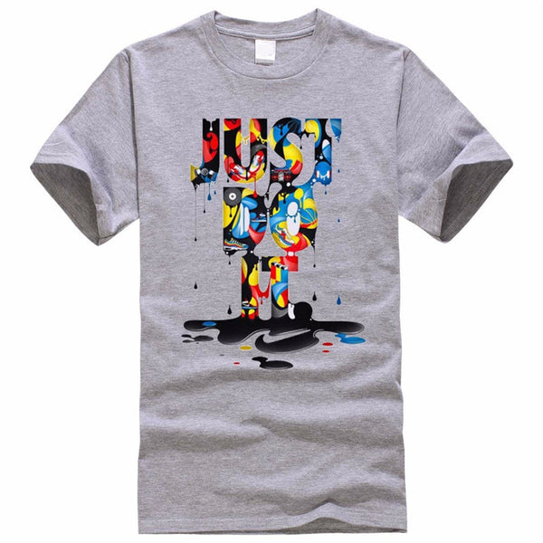 Just Do It T shirt Brand Clothing Hip Hop - EconomicShopping