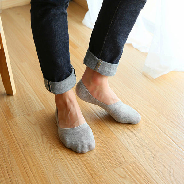 5 Pairs of Casual Socks for Men with Standard Thickness - EconomicShopping