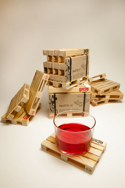 Mini Pallet Coasters Set of 5 - EconomicShopping