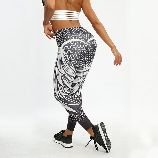 Sexy Fashion Print Leggings