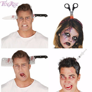 Halloween Decor Horror Knife Bloody Machete Halloween Party Supplies - EconomicShopping