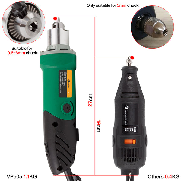 30000RPM 480W Electric Drill  Mini Engraver With 6 Variable Speed For Hand Metalworking Drilling Machine Polishing 110V/220V - EconomicShopping