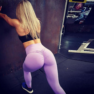 3a2468fcc 2018 New Arrival Scrunch Butt Leggings Gym Pant High Waist Elastic Sexy  Yoga Pants Women Push