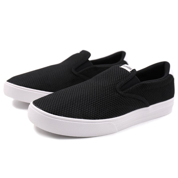 Official Original Adidas NEO Label VS SET SO Thread Unisex Skateboarding Shoes Slip-On Thread Low Top Sneakers Durable Classic