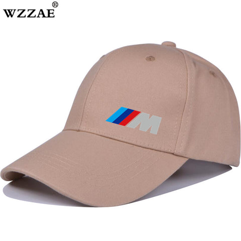 Men Fashion Cotton Car logo M performance Baseball Cap hat for M3 M5 3 5 7 X1 X3 X4 X5 X6 330i Z4 GT 760li E30 E34 E36 E38