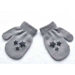 Cute Knitted Gloves for Girls - EconomicShopping