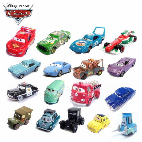 39Style Disney Pixar Cars 3 2 Jackson Storm Cars Ramirez The King Mater 1:55 Diecast Metal Alloy Model Cars Kid Gift Boy Toys