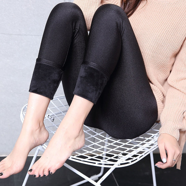 women plus size 5XL velvet thick Leggings lady fitness winter warm legging street outer wear big size XL thermal pants