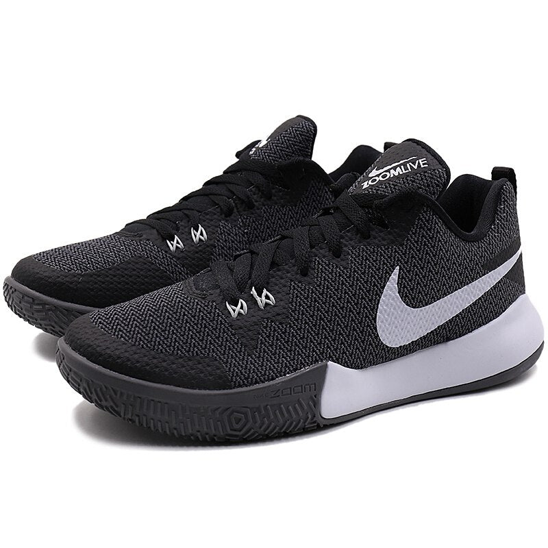 a77228573afc ... Original 2018 NIKE ZOOM LIVE II EP Men s Basketball Shoes Lace-up  High-cut ...