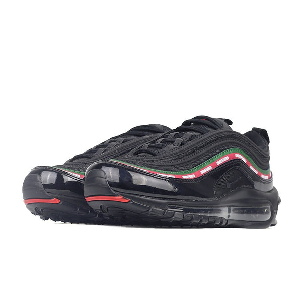 Original Undefeated X Nike Air Max 97 Men's Breathable Running damping Shoes Stable Sports Outdoor Sneakers AJ1986-005 Walking