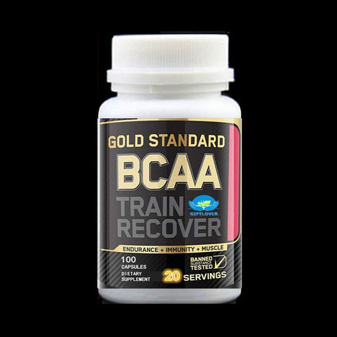 100 CAPS BCAA+Creatine Supplements,Branched Chain Amino Acids,Support Muscle Growth & Strength,Boost energy and focus, - EconomicShopping