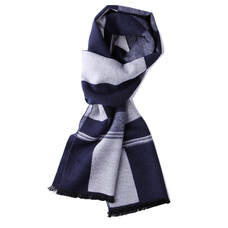 Men's Warm and Soft Scarf