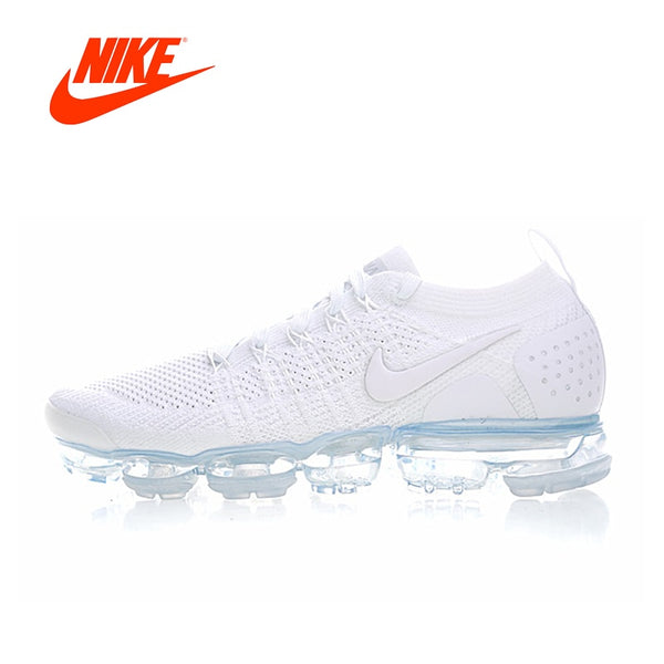 Original New Arrival Authentic NIKE AIR Vapormax Flyknit 2 Mens Running Shoes Comfortable Sneakers Good Quality 942842-100