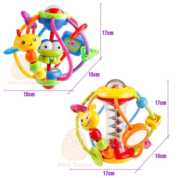 Baby Rattle Activity Ball Rattles Educational Toys For Babies Grasping Ball Puzzle Playgro Baby Toys 0-12 Months climb Learning - EconomicShopping