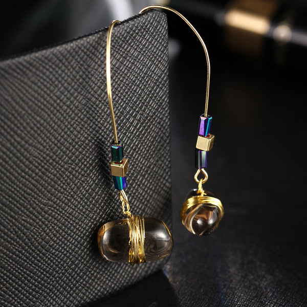 Bohemian Big Stone Drop Earring For Women - EconomicShopping