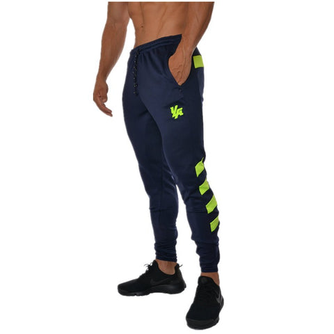 New Mens Running Pants Jogging Pants Men Slim Bottoms Football Training Sweatpants Gym Sport Compression Pants Exercise Trousers