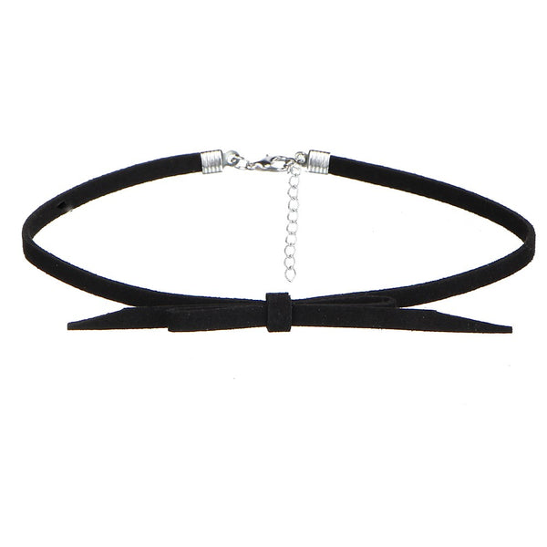 8 PCS/Set PU Leather Choker Necklaces Set for Women - EconomicShopping
