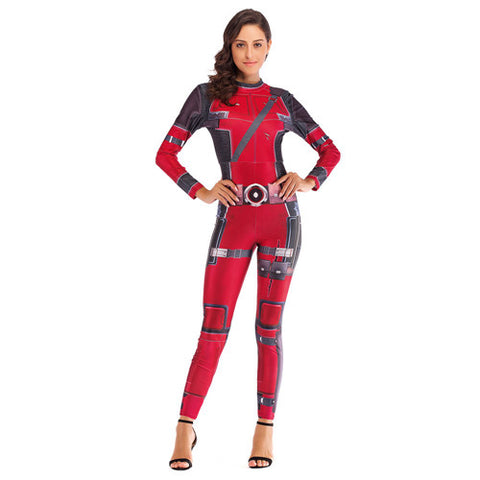 Super Hero Deadpool Costume Cosplay