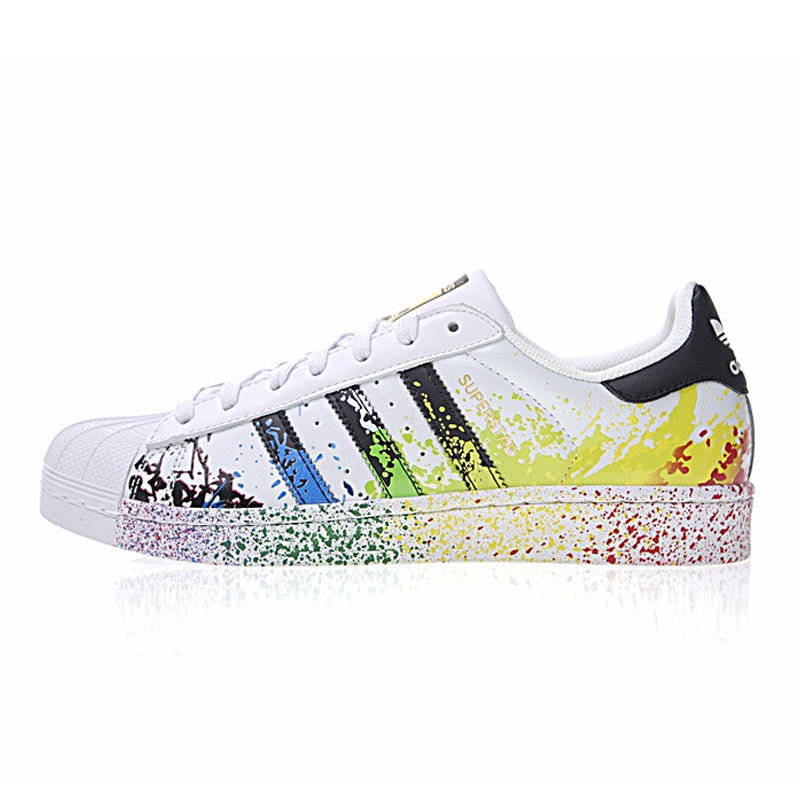 Adidas 917 Series Clover Superstar Gold Label Unisex Skateboarding Shoes