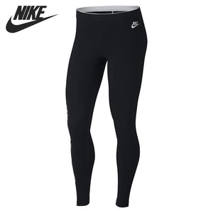 Original New Arrival NIKE AS W NSW LGGNG CLUB METALLC GX Women's Pants Sportswear