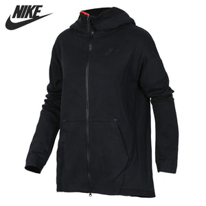 Original New Arrival  NIKE TCH FLC CAPE FZ KNT Women's  Jacket Hooded Sportswear
