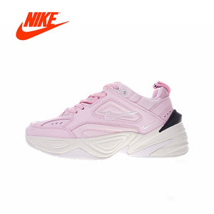 Original Authentic Nike M2K Tekno Women's Comfortable Running Shoes Sport Outdoor Sneakers Designer Low Top Jogging AO3108-600